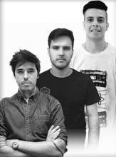 Juan Verdaguer, Ismael Preti y Carlos Brizuela