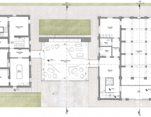 HYPOTHESIS OF RENUEMENT OF FARM HOUSE, BARN AND COURTYARD AREAS