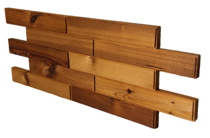 Thermowood panel cladding