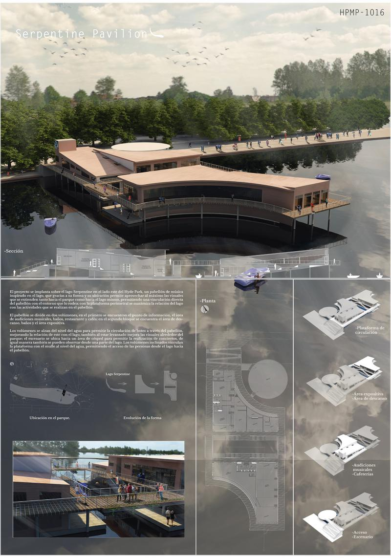 HPMP1016 Serpentine Pavilion