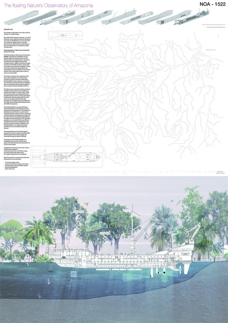 NOA1522 The floating Nature´s Observatory of Amazonia