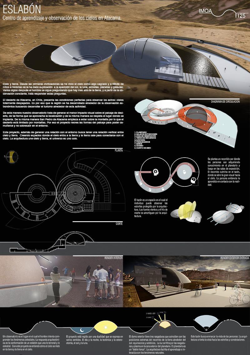Eslabón. Centro de aprendizaje y observación de los cielos en Atacama