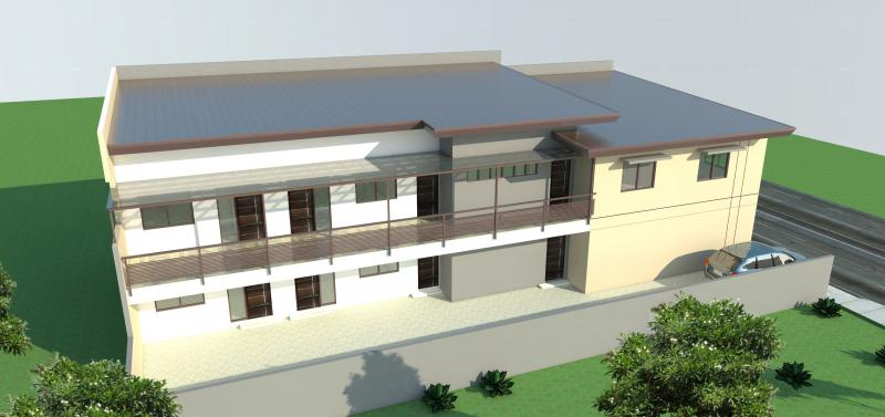 Two Storey Apartment Bulding & rentable Space
