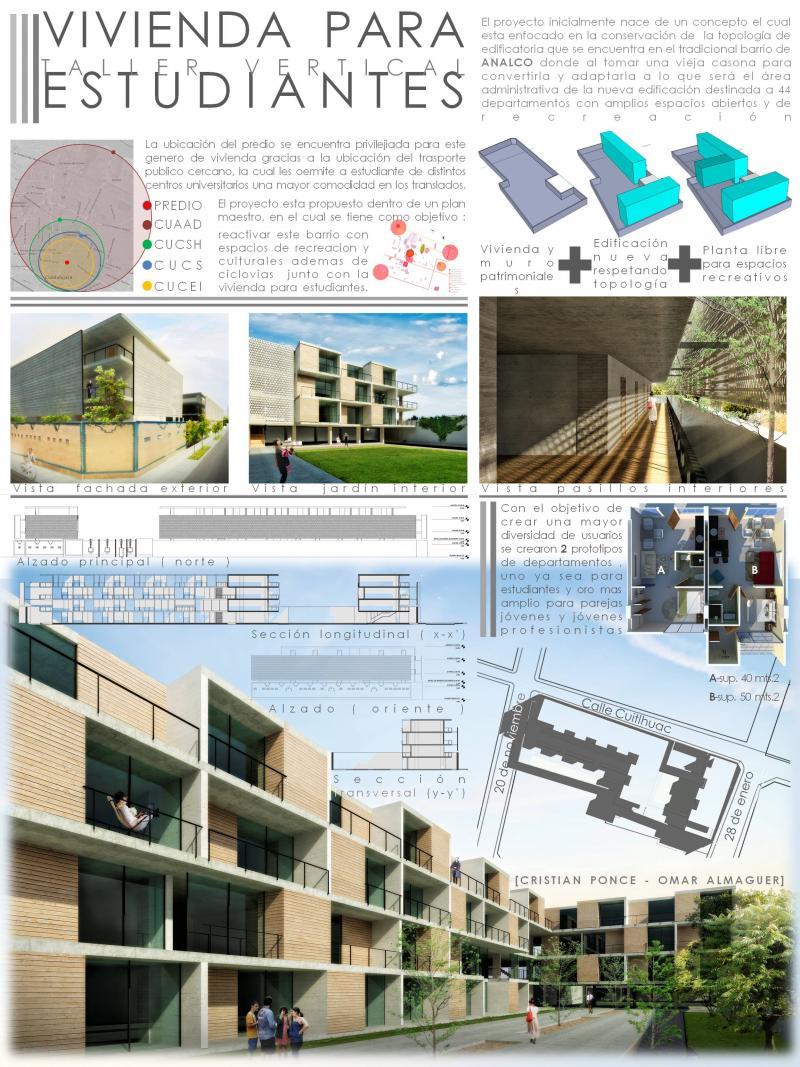 Vivienda para estudiantes arquideas for Ideas para reformar una vivienda