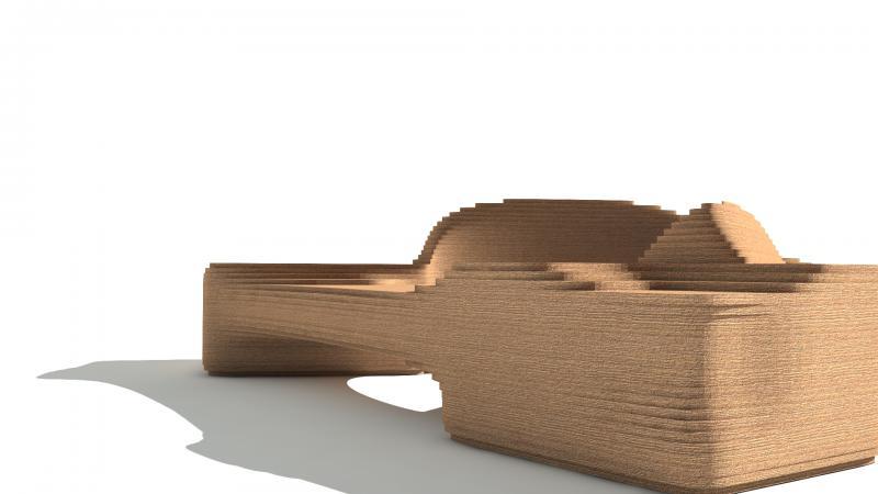 Parametric Bench 004