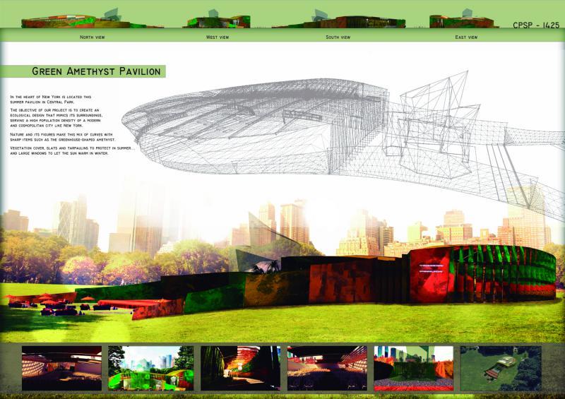 CPSP1425 - Green Amethyst Pavilion