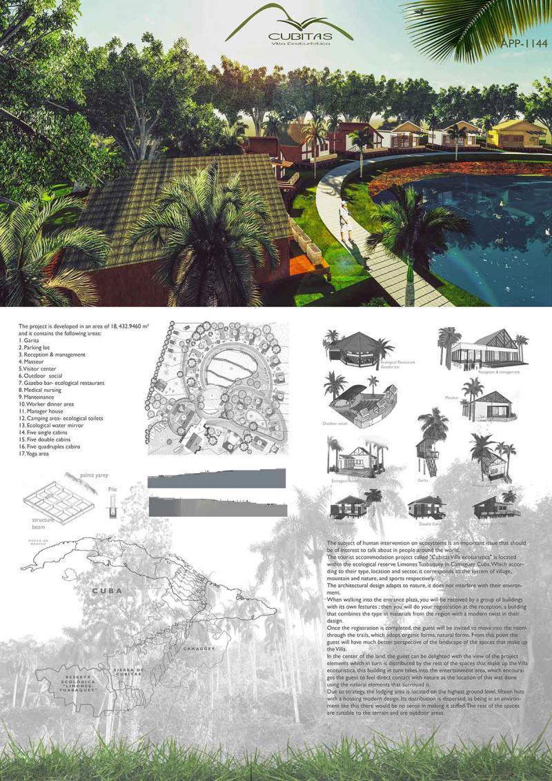 APP1144 Cubitas Villa ecoturistica