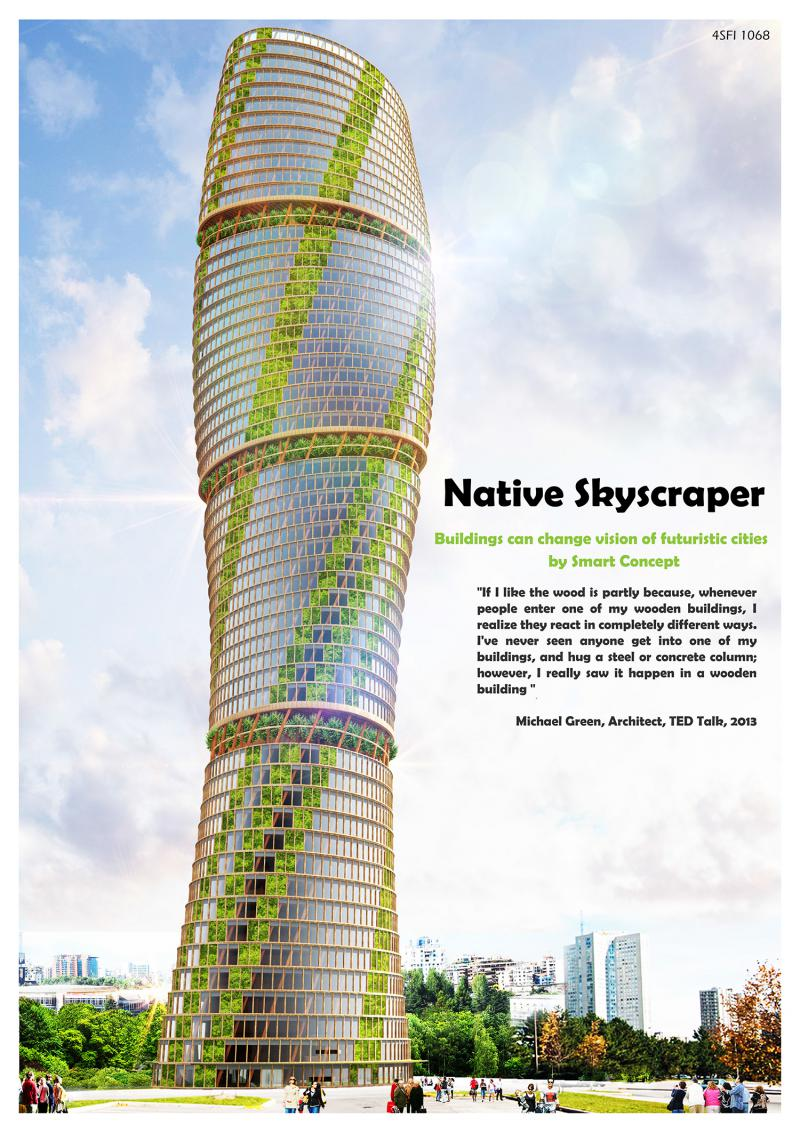 Native Skyscraper / Baobab Twisting Skyscraper