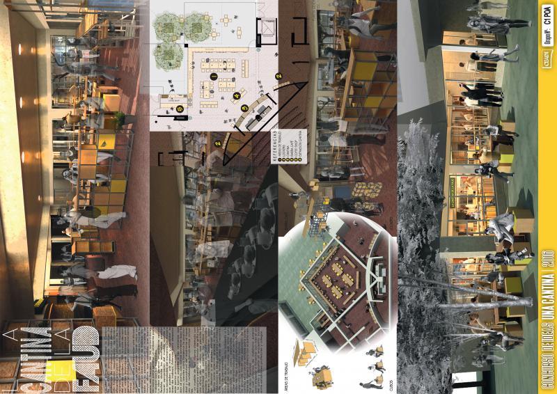 Cantina para la Facultad de Arquitectura