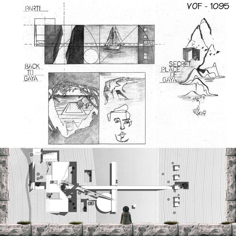 """VOF1095 Secret place of """"Gaya"""""""