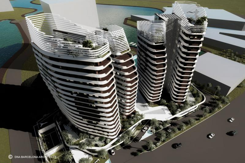 THE SAIL TOWERS