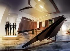 Art, art Gallery, Museum, Cultural complex, Interior Design, Iran Mall